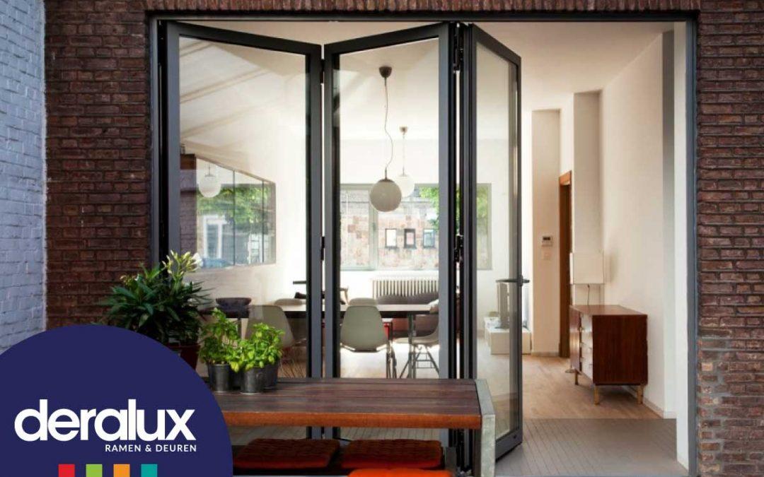 Aluminium vouwdeuren – Breng buiten écht binnen